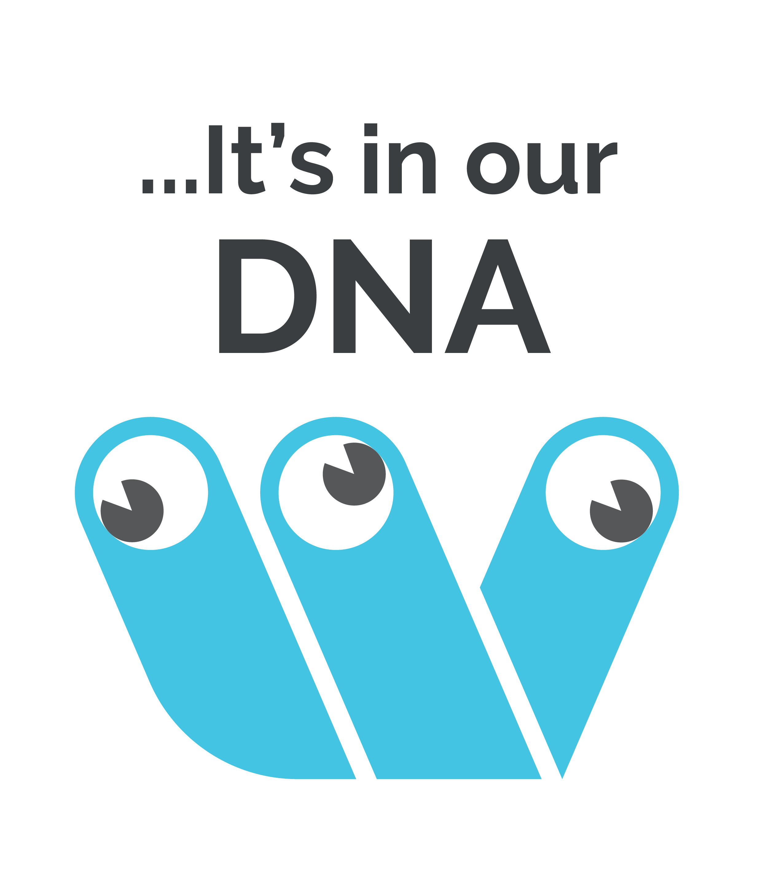 Wildbrain logo with a text right above it that says It's in our DNA.